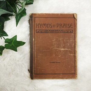 Mid Century Church Hymns Cloth Book